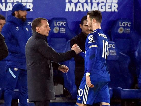 Leicester boss Brendan Rodgers hails James Maddison's 'immense' quality