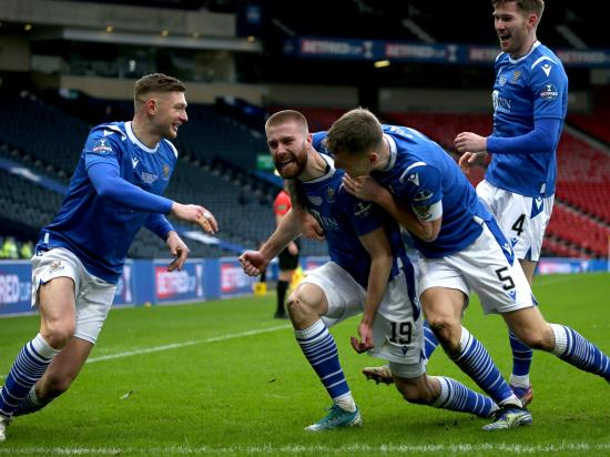 St Johnstone cup final hero Shaun Rooney doubtful before Hibs clash