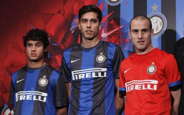brand new 3ba69 7d844 Inter Milan launches their new away kits for the 2012/13 ...