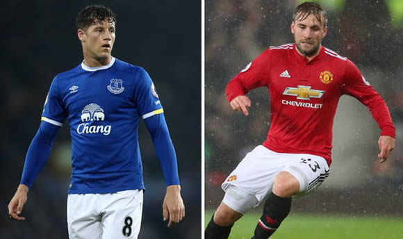 Tottenham to swoop for Ross Barkley and Luke Shaw