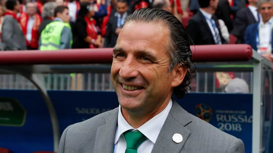 Saudi Arabia coach Juan Antonio Pizzi wants to forget 'feeling of shame' after Russia defeat