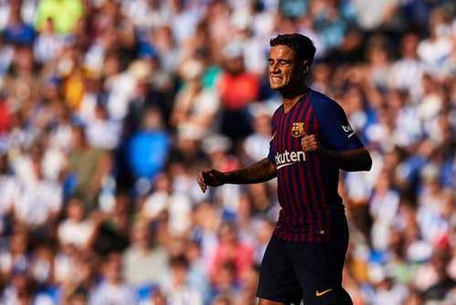 Coutinho: I don't like Iniesta comparisons