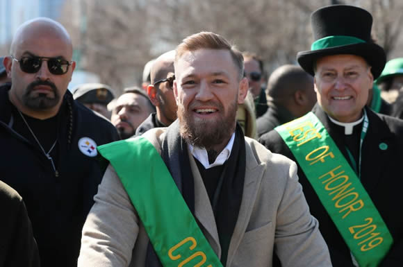 hot sale online 9d013 5f03b Conor McGregor reveals love for Man Utd, why he wants ...