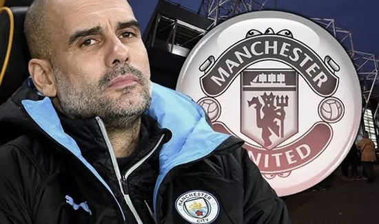 Man City boss Pep Guardiola insists he would retire rather than ever take the Man Utd job