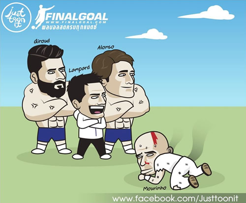7M Daily Laugh - Bad day for Mou