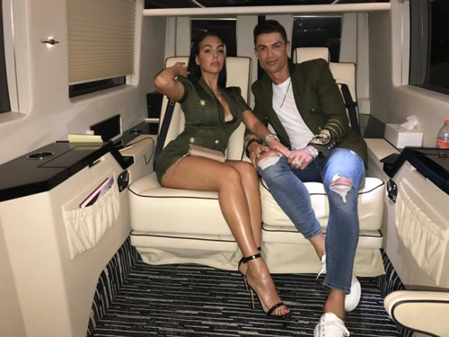 Cristiano Ronaldo 'gives stunning girlfriend Georgina Rodriguez an £80k allowance a month' to fund her lavish lifestyle