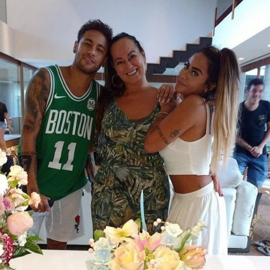 Neymar's mum Nadine Goncalves, 52, dating 22-year-old 'dreamy boy' gamer six years YOUNGER than her PSG superstar son