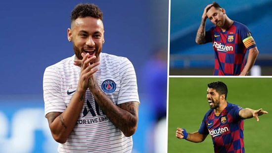 'Neymar broke up the best front three in history' - Leaving Barcelona for PSG a shame, says Minto