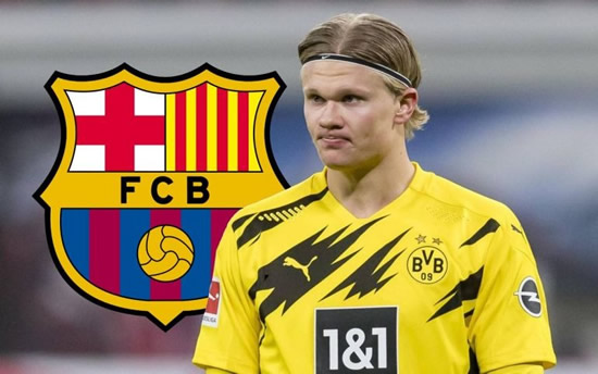 Barcelona have the perfect solution to bringing Haaland to the Camp Nou